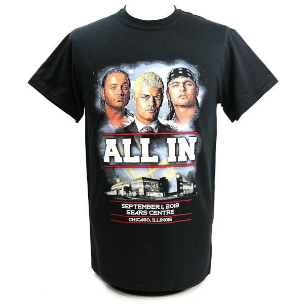 ALL IN Event ブラックTシャツ|bdrop