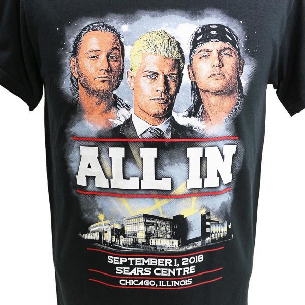 ALL IN Event ブラックTシャツ|bdrop|02