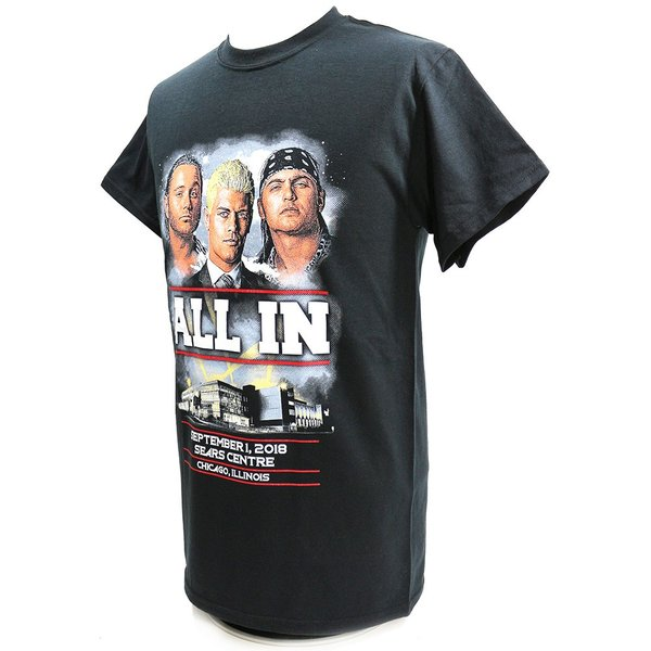 ALL IN Event ブラックTシャツ|bdrop|03