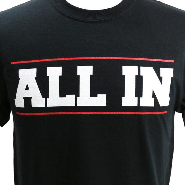 ALL IN ブラックTシャツ bdrop 02