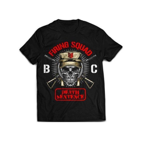 新日本プロレス NJPW BULLET CLUB(バレット・クラブ) B.C. Firing Squad Tシャツ|bdrop