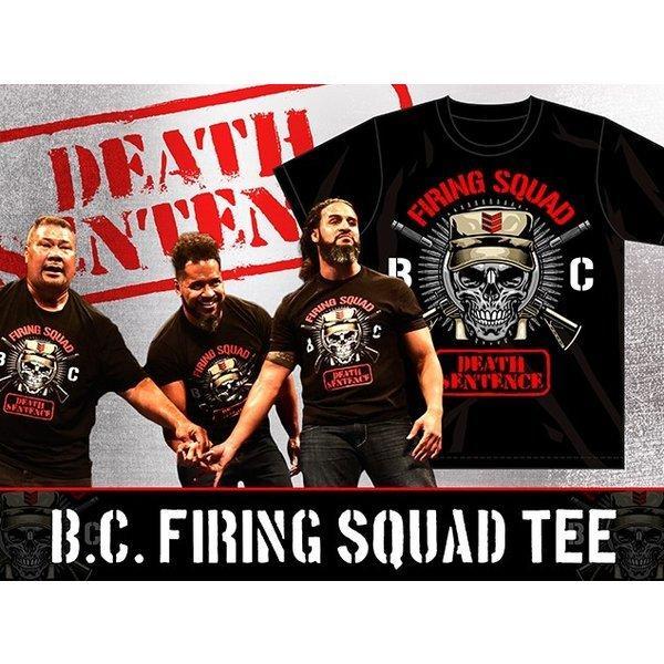 新日本プロレス NJPW BULLET CLUB(バレット・クラブ) B.C. Firing Squad Tシャツ|bdrop|03
