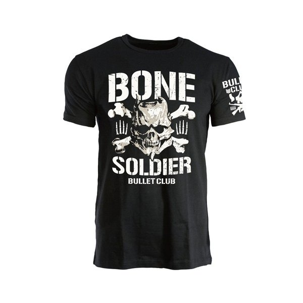 新日本プロレス NJPW BULLET CLUB(バレット・クラブ) BONE SOLDIER Tシャツ|bdrop