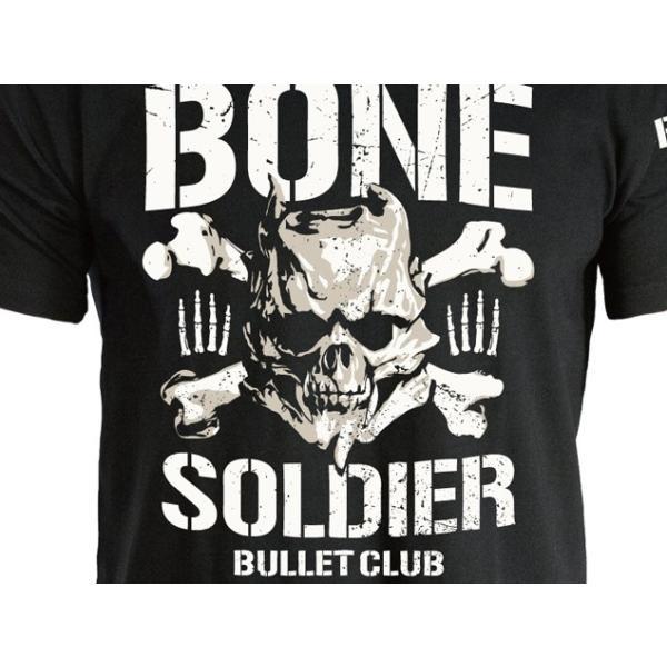 新日本プロレス NJPW BULLET CLUB(バレット・クラブ) BONE SOLDIER Tシャツ|bdrop|02