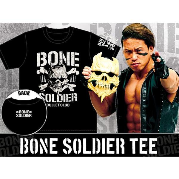 新日本プロレス NJPW BULLET CLUB(バレット・クラブ) BONE SOLDIER Tシャツ|bdrop|04