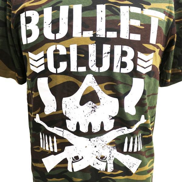 Tシャツ US版:新日本プロレス NJPW BULLET CLUB(バレット・クラブ) Camo bdrop 02
