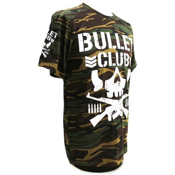 Tシャツ US版:新日本プロレス NJPW BULLET CLUB(バレット・クラブ) Camo bdrop 03