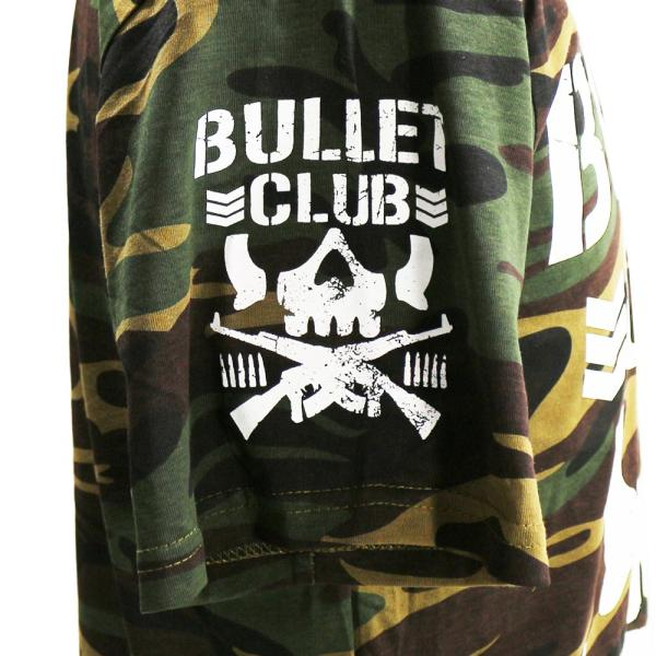 Tシャツ US版:新日本プロレス NJPW BULLET CLUB(バレット・クラブ) Camo bdrop 04