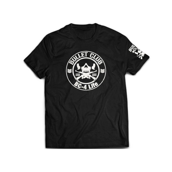 新日本プロレス NJPW BULLET CLUB(バレット・クラブ) サークルロゴ Tシャツ|bdrop