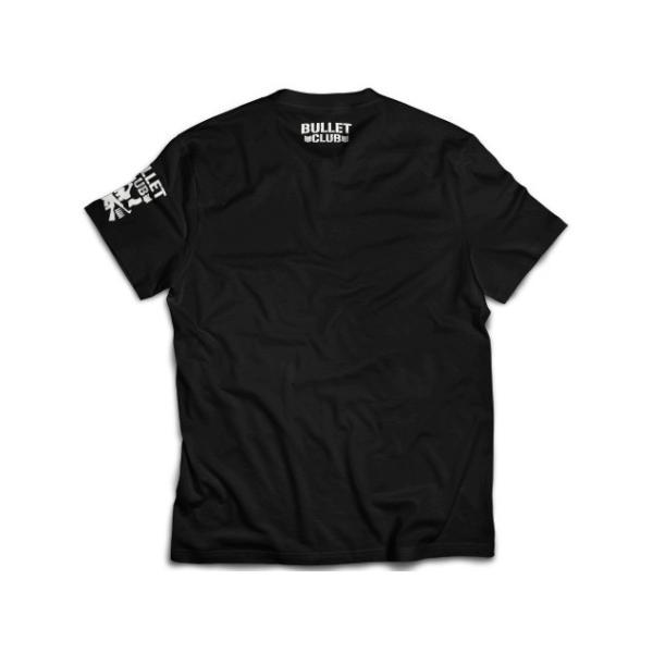 新日本プロレス NJPW BULLET CLUB(バレット・クラブ) サークルロゴ Tシャツ|bdrop|02