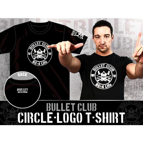 新日本プロレス NJPW BULLET CLUB(バレット・クラブ) サークルロゴ Tシャツ|bdrop|03