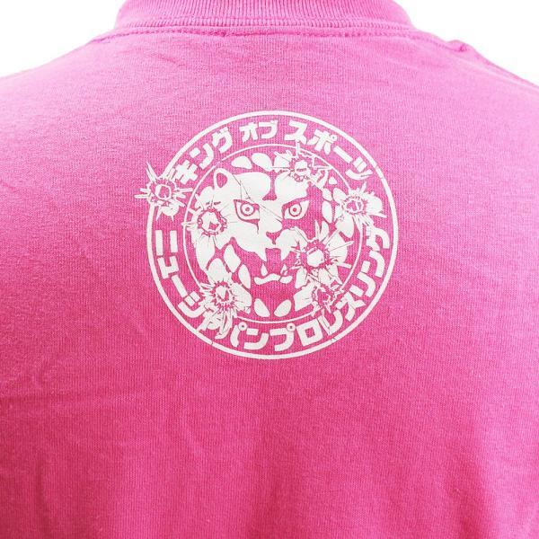 Tシャツ US版:新日本プロレス NJPW BULLET CLUB(バレット・クラブ) Katakana ピンク|bdrop|05