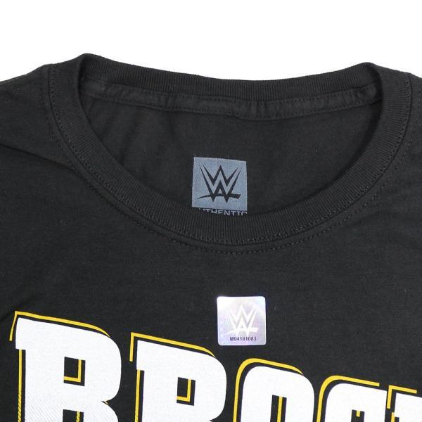Tシャツ WWE Brock Lesnar (ブロック・レスナー) Brock Party ブラック bdrop 06