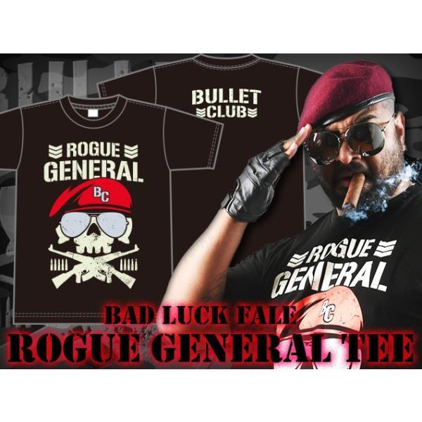 Tシャツ 新日本プロレス NJPW バッドラック・ファレ「ROGUE GENERAL BC」|bdrop|04