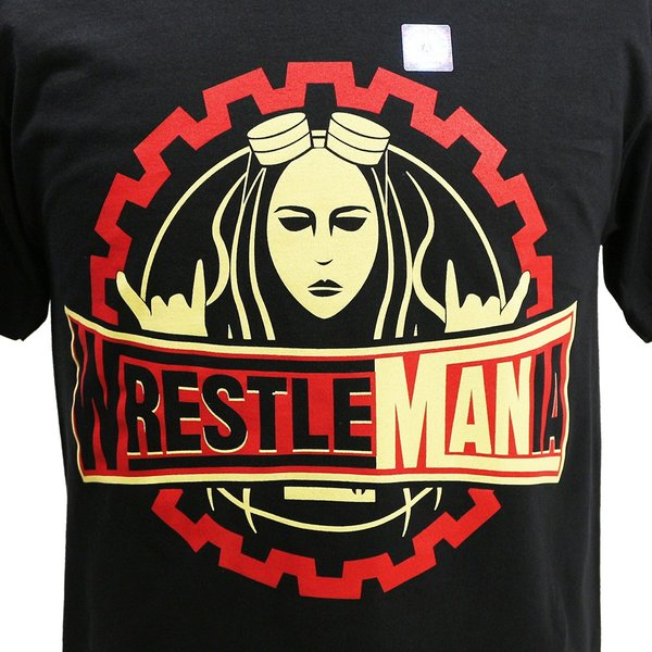 WWE Becky Lynch(ベッキー・リンチ) WrestleMANia ブラックTシャツ|bdrop|02