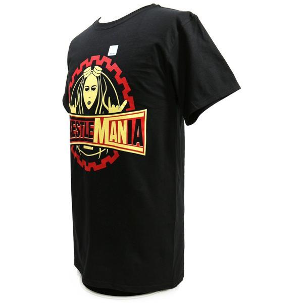 WWE Becky Lynch(ベッキー・リンチ) WrestleMANia ブラックTシャツ|bdrop|03