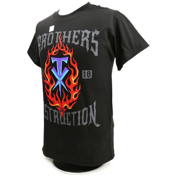 WWE The Brothers of Destruction 2018(破壊兄弟) ブラックTシャツ|bdrop|03