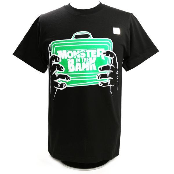 WWE Braun Strowman(ブラウン・ストローマン) Monster in The Bank ブラックTシャツ|bdrop