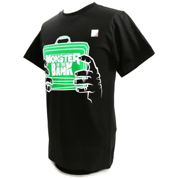 WWE Braun Strowman(ブラウン・ストローマン) Monster in The Bank ブラックTシャツ|bdrop|03