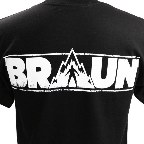 WWE Braun Strowman(ブラウン・ストローマン) Monster in The Bank ブラックTシャツ|bdrop|05