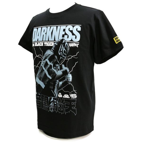 新日本プロレス NJPW ブラック・タイガー(暗闇脳天ブラック) Tシャツ Hardcore Chocolate/ハードコアチョコレート|bdrop|03