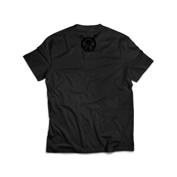 Tシャツ 新日本プロレス NJPW BUSHI「INGOBERNABLES」(ブラック×ブラック) bdrop 02