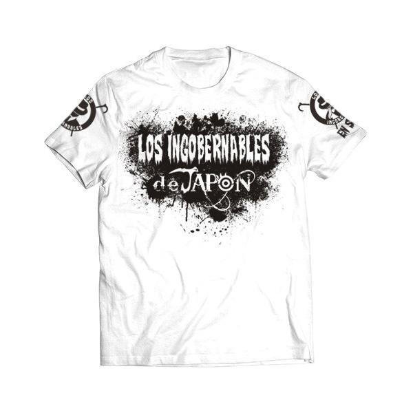 新日本プロレス NJPW BUSHI×L・I・J「MIST」Tシャツ(ホワイト×ブラック)|bdrop
