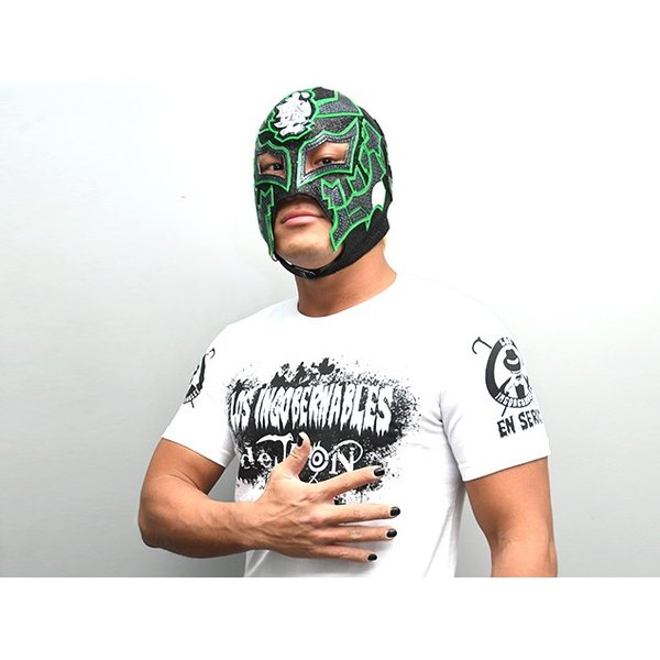 新日本プロレス NJPW BUSHI×L・I・J「MIST」Tシャツ(ホワイト×ブラック)|bdrop|03
