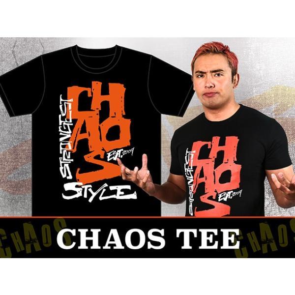 新日本プロレス NJPW CHAOS「Strongest Style」Tシャツ|bdrop|02