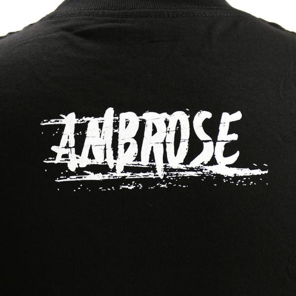 WWE Dean Ambrose (ディーン・アンブローズ) Return to Society ブラックTシャツ|bdrop|05