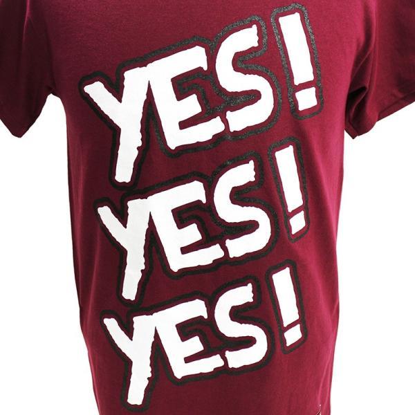 WWE Daniel Bryan(ダニエル・ブライアン) Yes マルーンTシャツ|bdrop|02