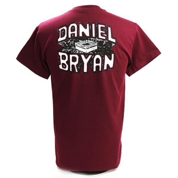 WWE Daniel Bryan(ダニエル・ブライアン) Yes マルーンTシャツ|bdrop|04