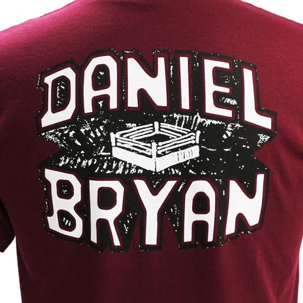 WWE Daniel Bryan(ダニエル・ブライアン) Yes マルーンTシャツ|bdrop|05