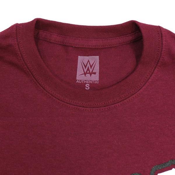 WWE Daniel Bryan(ダニエル・ブライアン) Yes マルーンTシャツ|bdrop|06