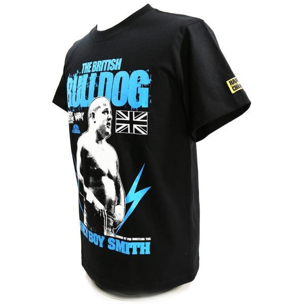 新日本プロレス NJPW デイビー・ボーイ・スミス/ブリティッシュ・ブルドッグ(ブラック) Tシャツ Hardcore Chocolate/ハードコアチョコレート|bdrop|03