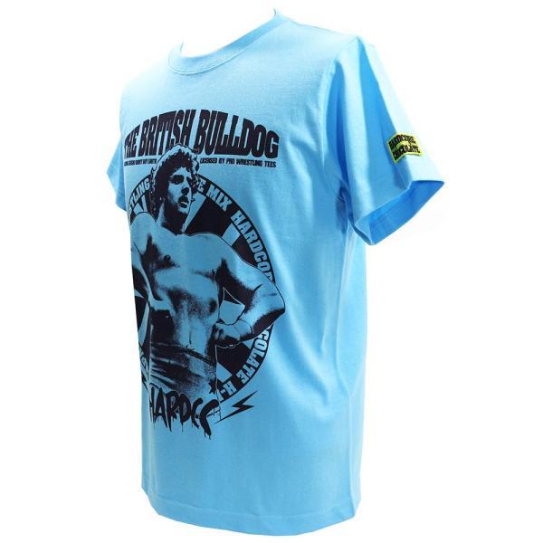 新日本プロレス NJPW デイビー・ボーイ・スミス/稲妻戦士(アクアブルー) Tシャツ Hardcore Chocolate/ハードコアチョコレート|bdrop|03