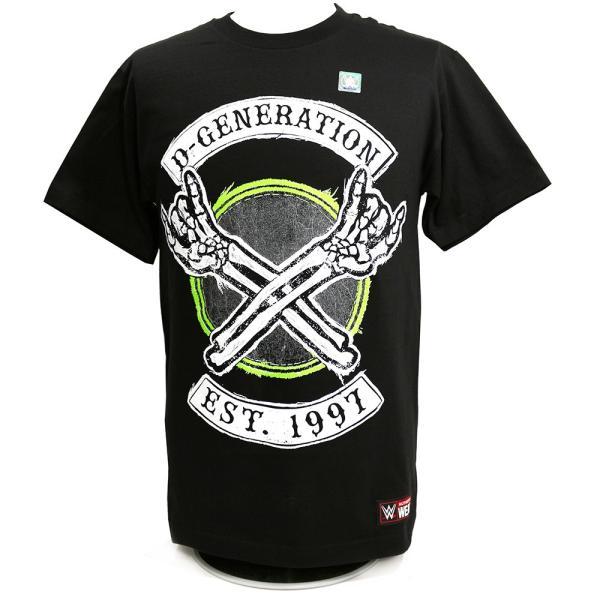 WWE D-Generation X 2018 ブラックTシャツ|bdrop