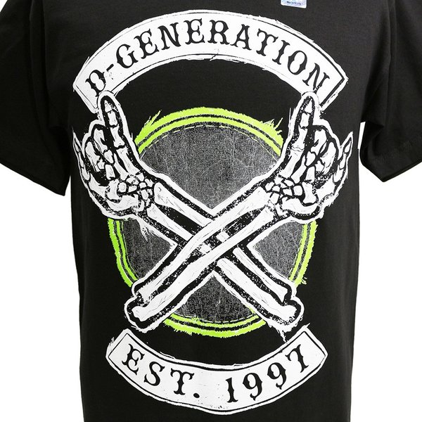 WWE D-Generation X 2018 ブラックTシャツ|bdrop|02