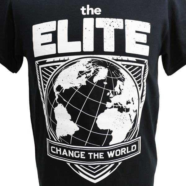 The Elite(ケニー・オメガ&ヤング・バックス) Change The World ブラックTシャツ|bdrop|02
