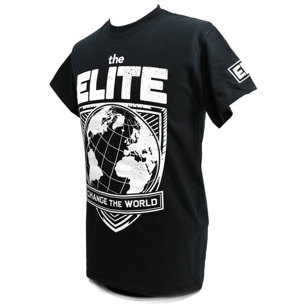 The Elite(ケニー・オメガ&ヤング・バックス) Change The World ブラックTシャツ|bdrop|03