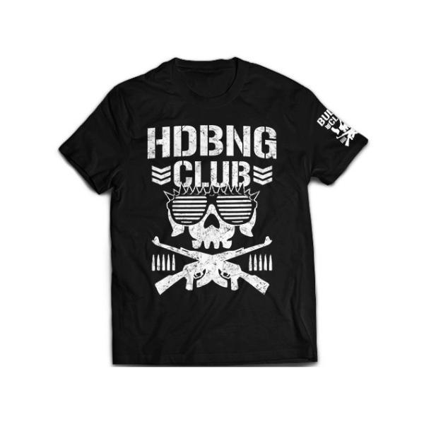 Tシャツ 新日本プロレス NJPW エル・ファンタズモ「HDBNG CLUB」 bdrop