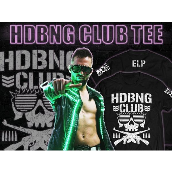 Tシャツ 新日本プロレス NJPW エル・ファンタズモ「HDBNG CLUB」 bdrop 03