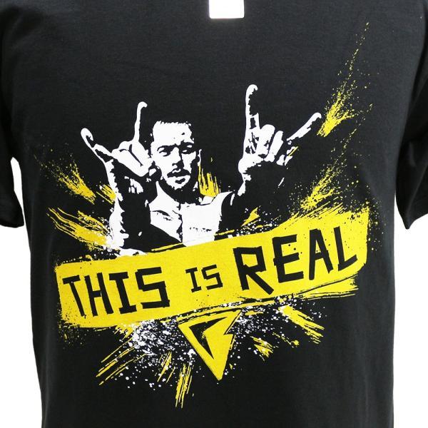 Tシャツ XXLサイズ:WWE Finn Balor (フィン・ベイラー) This is Real ブラック|bdrop|02