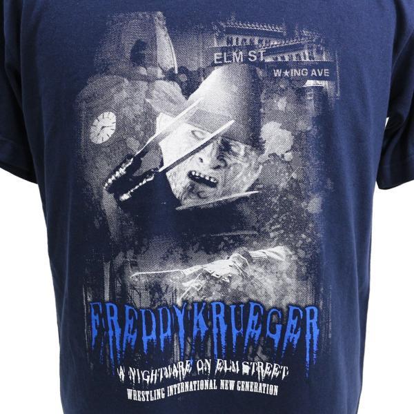 Tシャツ W★ing フレディ・クルーガー ネイビー|bdrop|02