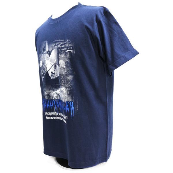 Tシャツ W★ing フレディ・クルーガー ネイビー|bdrop|03