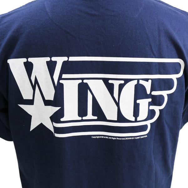 Tシャツ W★ing フレディ・クルーガー ネイビー|bdrop|05