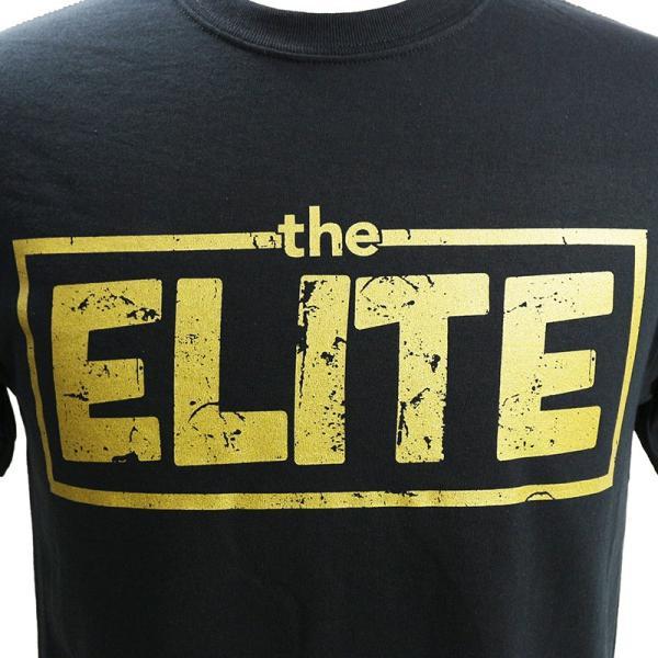 新日本プロレス/NJPW Golden Elite(ゴールデンエリート) ブラックTシャツ|bdrop|02