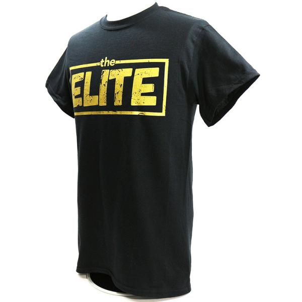 お1人様各サイズ2枚まで:新日本プロレス NJPW Golden Elite(ゴールデンエリート) ブラックTシャツ|bdrop|03