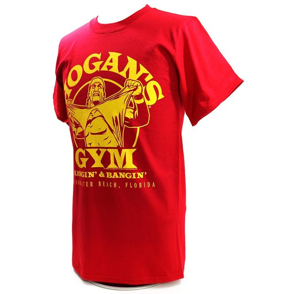 WWE Hulk Hogan(ハルク・ホーガン) Hogans Gym レッドTシャツ|bdrop|03