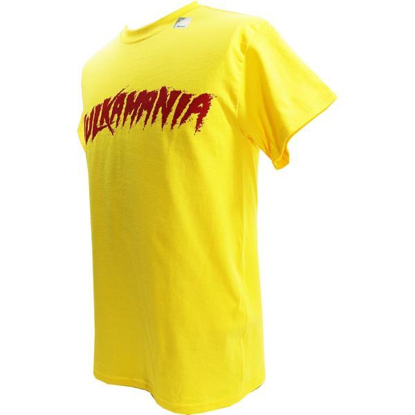 Tシャツ WWE Hulk Hogan(ハルク・ホーガン) Hulkamania イエロー|bdrop|03